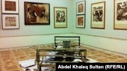 جانب من معرض الفنان عوني سامي
