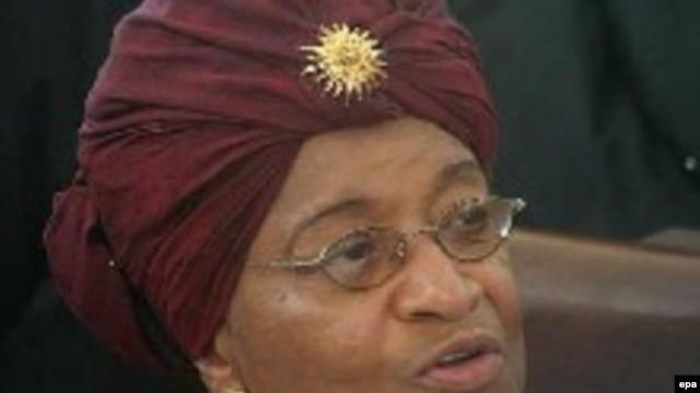 Liberian President Ellen Johnson-Sirleaf