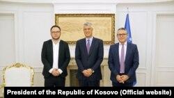 Krešnik Gaši, Hašim Tači, Burim Ramadani, Priština, Novembar 25, 2019.