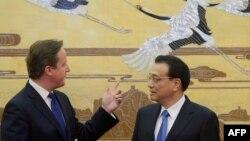 David Cameron və Li Keqiang