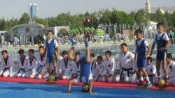 Aşgabat olimpia medalyna umyt baglaýar