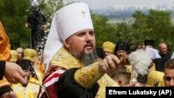 Глава ПЦУ митрополит Епіфаній. Київ, 28 липня 2020 року