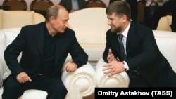 Владимир Путин(с) һәм Рамзан Кадыров