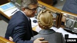 Сергій Тарута та Юлія Тимошенко (архівне фото)