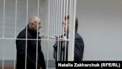 Девлет Алиханов и его адвокат Михаил Шогин