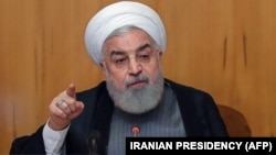 Президент Ирана Хасан Роухани на заседании кабинета министров страны, 3 июля 2019 года
