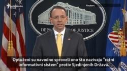Optužnica SAD protiv 13 Rusa i tri kompanije