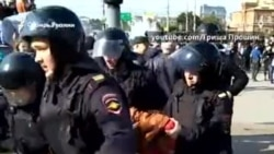 Акции протеста против пенсионной реформы в Сибири