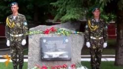 В Україні відкрили перший пам'ятник «блакитним шоломам»