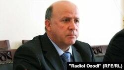 Фаттоҳ Саидов, раиси Оҷонсии назорати давлати молиявӣ ва мубориза бо коррупсия.
