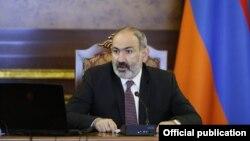 И.о. премьер-министра Армении Никол Пашинян