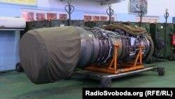 Двигун українського винищувача МіГ-29