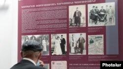 Kiállítás nyílt a népirtás túlélőinek családjairól Jerevánban. 2021. április 21.