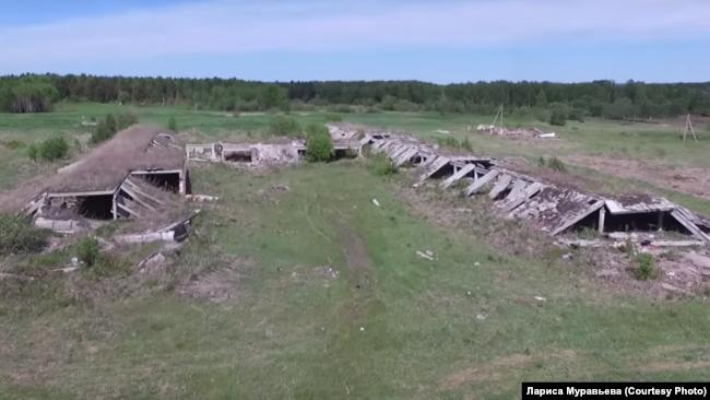 Развалины фермы в Гусево