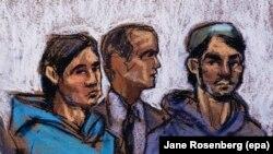 Узбекистанцы, обвиненные в США в совершении преступлений, связанных с терроризмом.