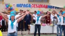 День знань у кримськотатарській школі Сімферополя (відео)