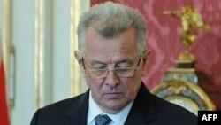 Бывший президент Венгрии Пал Шмитт.