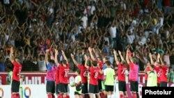 «Արարատ-Արմենիա»-ն տոնում է հաղթանակը «Դյուդելանժ»-ի նկատմամբ, Երևան, 22-ը օգոստոսի, 2019թ․