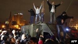 Архивска фотографија: Опозициски демонстранти во Каиро.