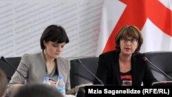 Всю прошлую неделю Майя Панджикидзе проводила встречи в штаб-квартире ООН: она убеждала представителей почти 80 стран поддержать грузинскую резолюцию по беженцам