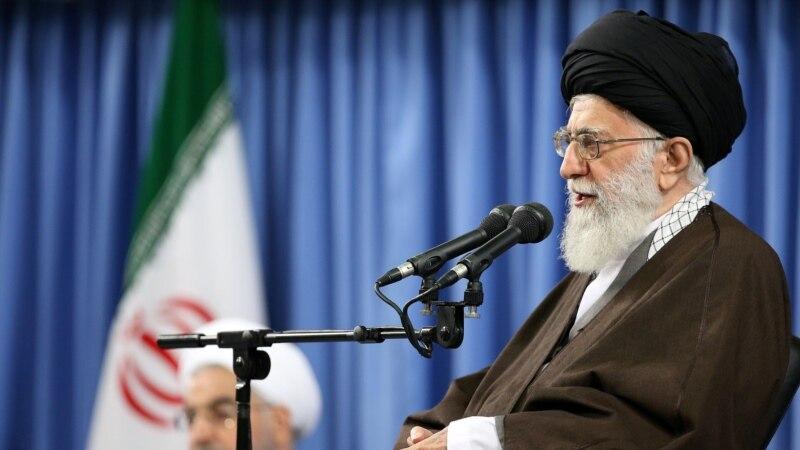 Верховний лідер Ірану знову критикує президента Роугані за політику зближення із Заходом
