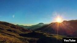Солнце в Чечне (архивное фото)