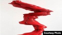 "Тони Крэгг ""Красная фигура"" (2008 г., дерево)"