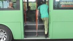 В общественном транспорте, Ашхабад