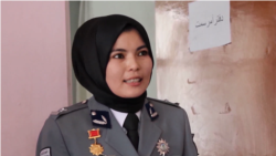 Her Dad Was A Taliban Militant. Now She's Her Afghan District's Top Cop