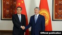 Алмазбек Атамбаев жана Ли Кэцян