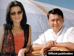 Дарига Назарбаева с Рахатом Алиевым.