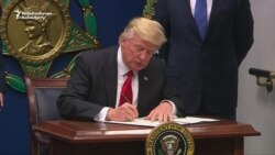 Trump Signs Executive Order On Immigration 'Vetting'