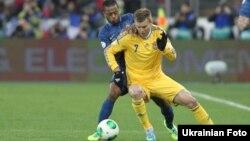 Украина мен Франция құрамасы арасындағы матч. Киев, 15 қараша 2013 жыл.