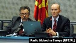 Димитар Богов, гувернер на Народна банка на Македонија.
