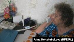 Зейнеткер Таисия Курочка. Алматы, 18 ақпан 2014 жыл.