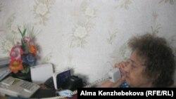 Пенсионерка Таисия Курочка. Алматы, 18 февраля 2014 года.