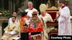Таҷлили Милоди Масеҳ дар Ватикан