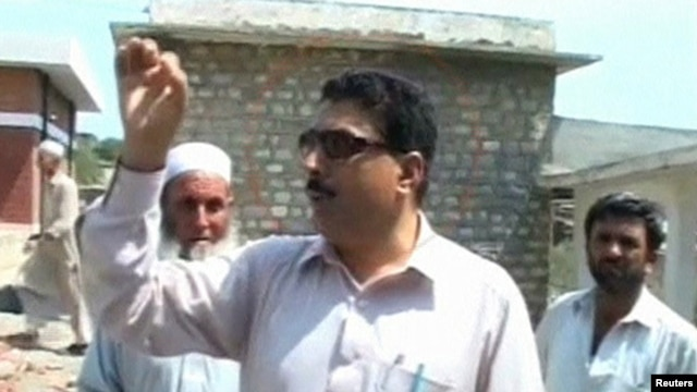 Shakil Afridi at an undisclosed location in a photo from file footage released on May 23.