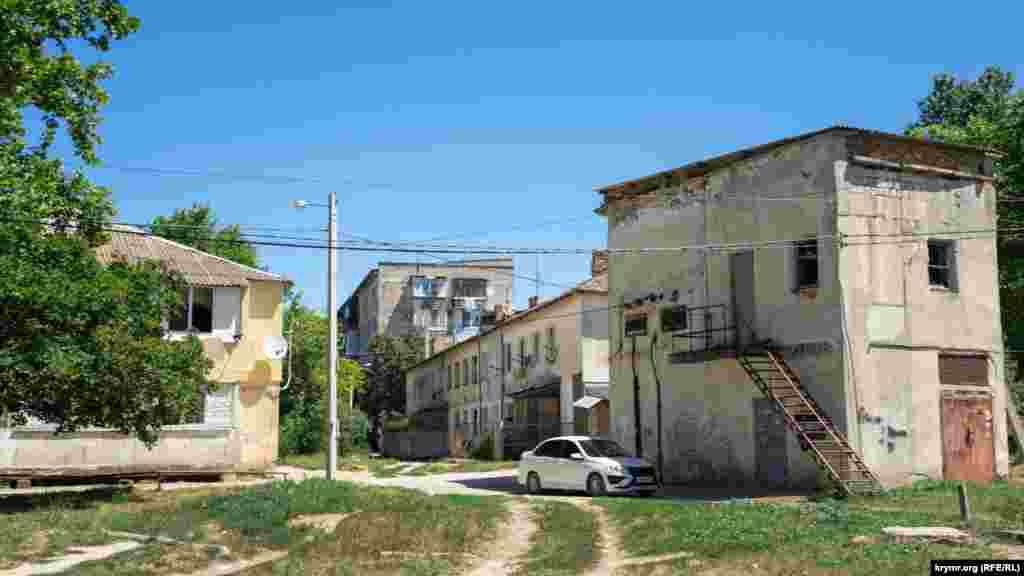 В центре Богдановки – многоквартирные дома и социально-культурная инфраструктура бывшего совхоза «Пригородный»