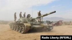نیروهای ارتش افغانستان در حوالی کندز (عکس از نهم مهر ماه)