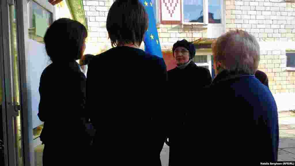 Ministrul Educației Corina Fusu a venit în vizită