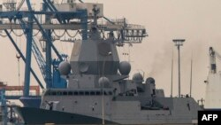 """На снимке: норвежский фрегат """"Хельге Ингстад"""""""