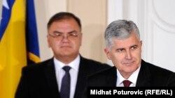 Mladen Ivanić i Dragan Čović, novembar 2014.