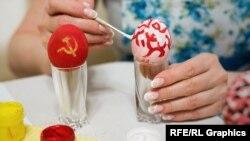 Пасхальные яйца à la soviétique
