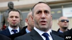 Ramush Haradinaj në Prishtinë