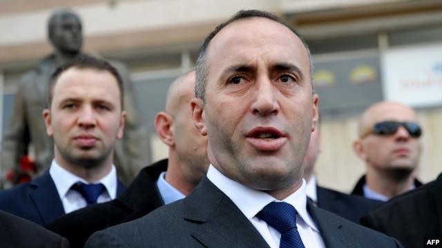 Former Kosovar Prime Minister Ramush Haradinaj
