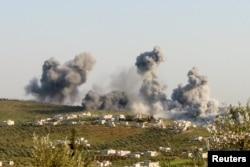 Бои в сирийской провинции Идлиб. 8 марта 2015 года