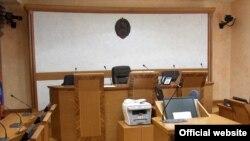 Jedna od sudnica Višeg suda u Beogradu