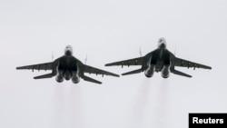 Истребители МиГ-29. Иллюстративное фото.