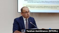 Министр информации и общественного развития Казахстана Даурен Абаев.
